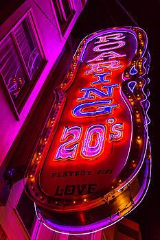 Roaring 20's Neon by Garry Gay