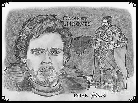Robb Stark King of the North by Chris  DelVecchio