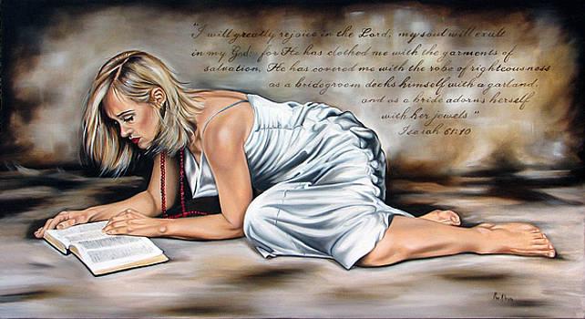 Robe of Righteousness by Ilse Kleyn