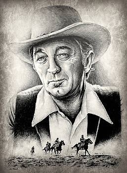 Robert Mitchum by Andrew Read