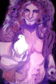 Robert Plant by Hannah Curran