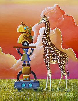 Robots On Safari by Cindy Thornton