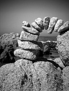Joyce Dickens - Rock Art Two In Black And White