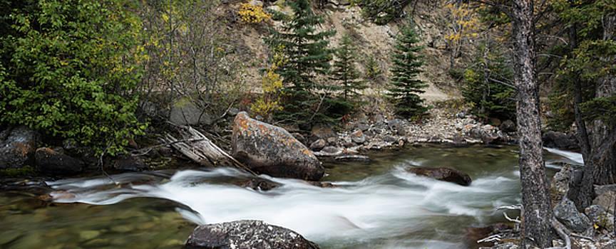 Rock Creek Beartooth Mountains Montana by Steve Gadomski