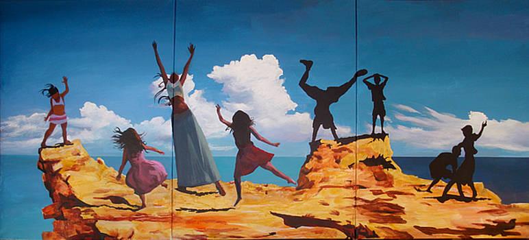 Rock Dancers by Geoff Greene