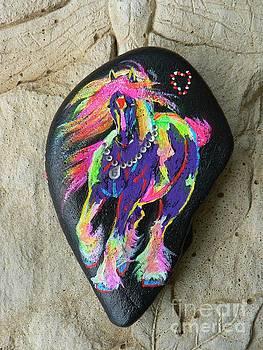 Rock 'N' Ponies - Gypsy Queen by Louise Green