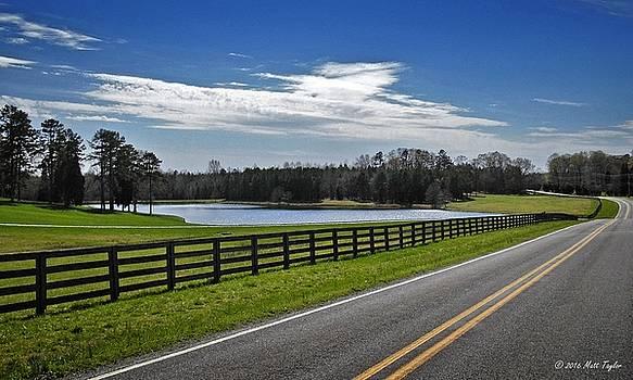 Rockcrusher Road Scenic Countryside by Matt Taylor