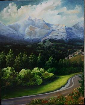 Rockies by Patricia Reed