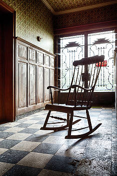 Rocking Chair - Abandoned House by Dirk Ercken