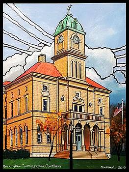 Rockingham County Courthouse by Jim Harris