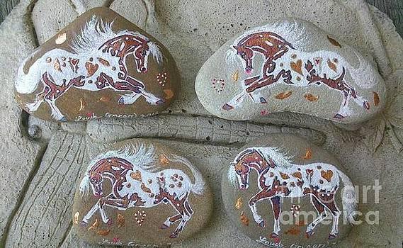 Rock'N'Ponies - Autumn Ponies by Louise Green