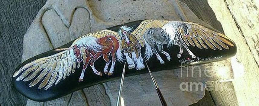Rock'N'Ponies EPIC LEGENDS by Louise Green