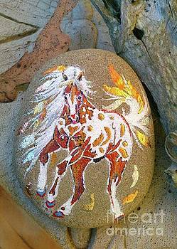 Rock'N'Ponies - PONY OF THE FALLING LEAVES by Louise Green