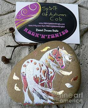 Rock'N'Ponies - SPIRIT OF AUTUMN COB by Louise Green
