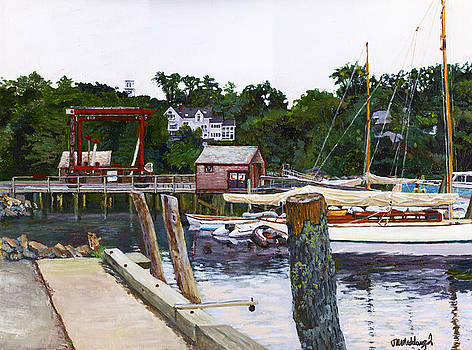 Rockport Marina by Thomas Michael Meddaugh