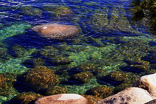Rocks Ripples and Reflections by Lynn Bawden