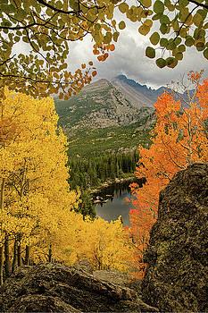 Rocky Mountain Autumn by Jim Bennett