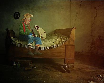 Rodeo Clown by Terry Fleckney
