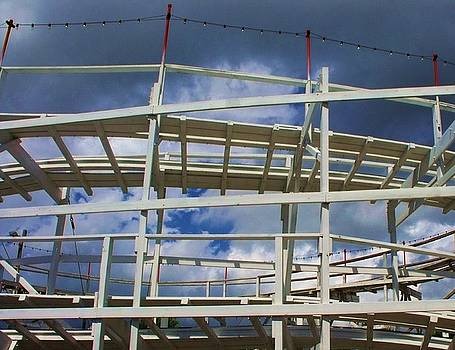 Roller Coaster 5 by Anna Villarreal Garbis