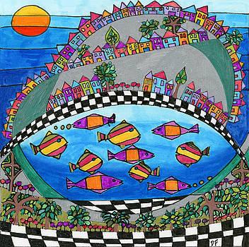 Rolling Hills by Dora Ficher