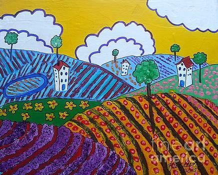 Rolling Hills by Karleen Kareem