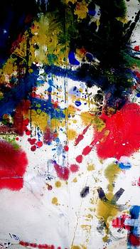 Romak Abstract by Amy Sorrell