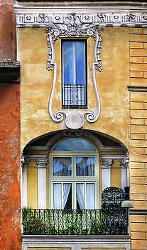 Roman Balcony by Dave Mills