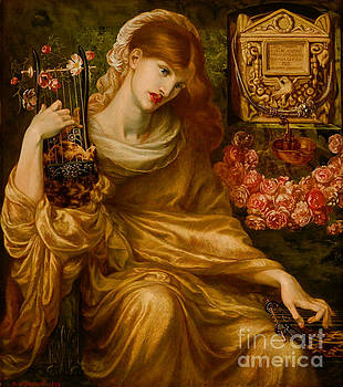 Roman Widow 1874 by Padre Art