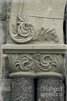 Romanesque Style - Building Macro by Ella Kaye Dickey