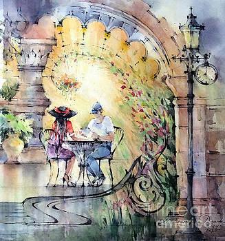 Romantic Dinner by Natalia Eremeyeva Duarte