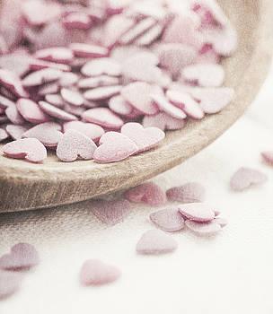 Romantic heart shaped sprinkles by Lars Hallstrom