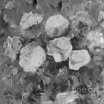 Romantic Large Roses  by Robin Maria Pedrero