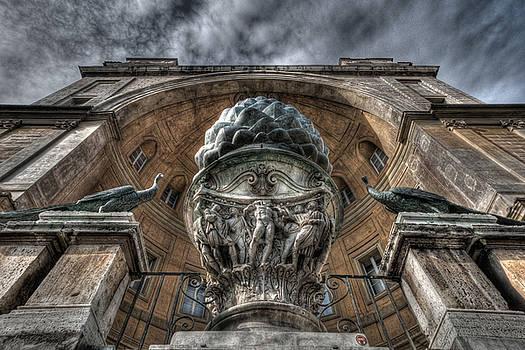 Rome Architecture 4 by Miguel Pardo
