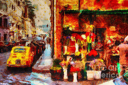Rome Street Colors by Stefano Senise