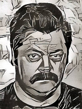 Ron Swanson by Paul Van Scott