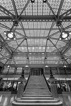 Rookery Building Lobby BW by Steve Gadomski