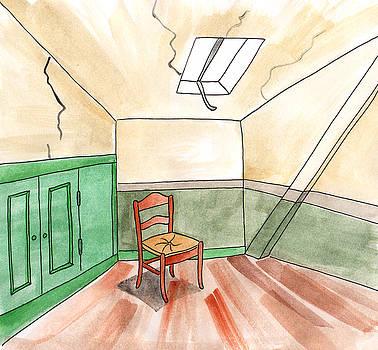 Anna Elkins - Room of Vincent Van Gogh