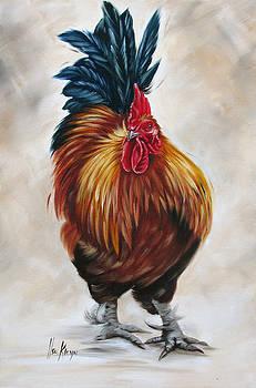 Rooster 16 of 10 by Ilse Kleyn