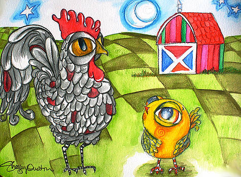 Rooster Coburn and the Chick by Shelley Overton
