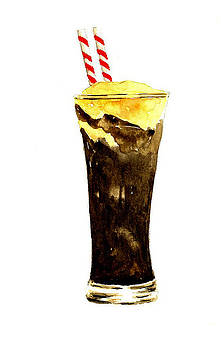 Root Beer Float by Michael Vigliotti