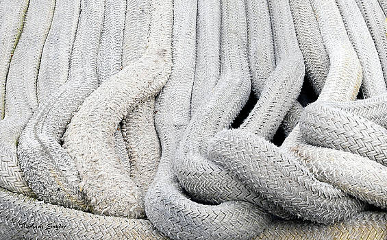 Rope Really Big Boat Rope by Barbara Snyder