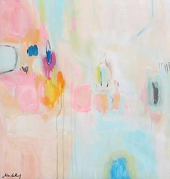 Rosa Abstract by Jolina Anthony