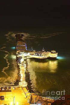 James Brunker - Rosa Nautica Restaurant at Night Lima