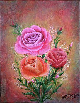 Rose Bouquet by Kristi Roberts