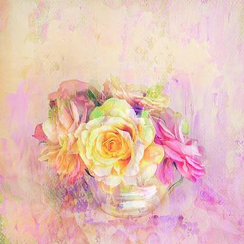 Rose Dream Square Format by Theresa Tahara