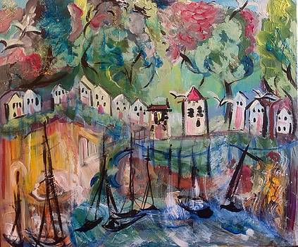 Rose harbour  by Judith Desrosiers