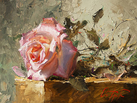 Rose in the Sunshine by Oleg Trofimoff