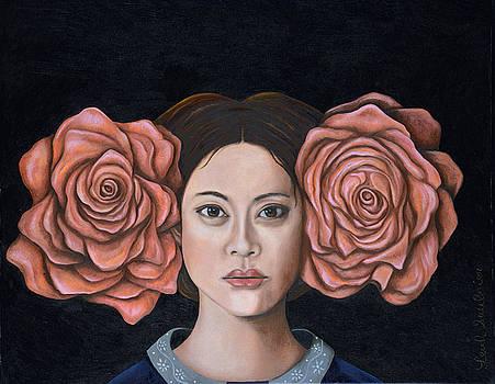 Leah Saulnier The Painting Maniac - Rose