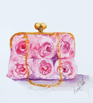 Rose Purse by Lucia Del