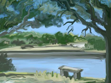 Rosemary Lake by Jean Pacheco Ravinski